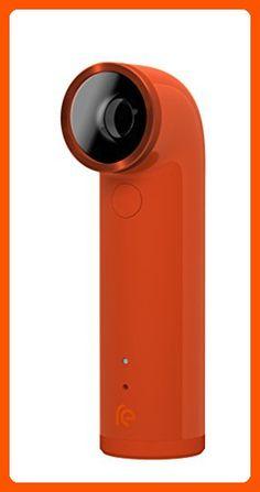HTC RE 16.0MP Waterproof Digital Camera (Orange) - Best gadgets (*Amazon Partner-Link)