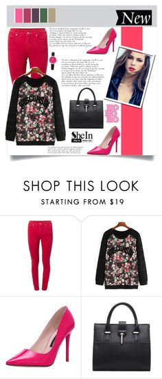 """""""SheIn (8)"""" by aida-banjic ❤ liked on Polyvore featuring MM6 Maison Margiela, Oasis, women's clothing, women's fashion, women, female, woman, misses, juniors and shein"""