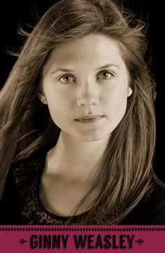 Ginny Weasley, Gryffindor. #HogwartsStudents #Hogwarts #HarryPotter #Gryffindor #BonnieWright