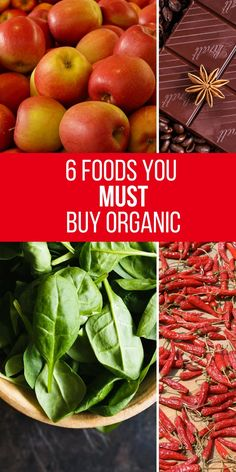 Organic food can be expensive so it's important to know which foods you should buy organic.