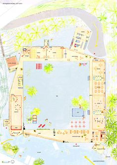 Shichigahama Tohyama Nursery,Ground Floor Plan