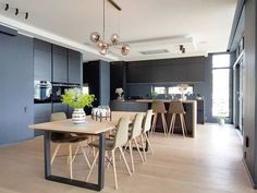 @villabasneset New Kitchen Inspiration, Master Bedroom, Table, Furniture, Color, Home Decor, Conference Room, Beauty, Pintura