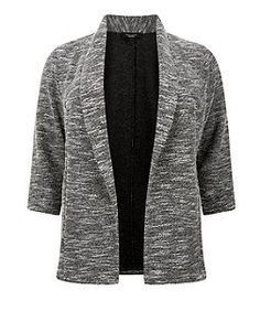 Plus Size Black Textured Blazer Fall 2015, Size Clothing, Plus Size Outfits, New Look, Autumn Fashion, Style Inspiration, Blazer, My Style, Sweaters