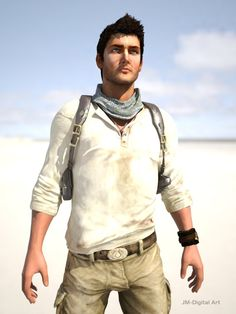 Nathan Drake by JavierMicheal on DeviantArt