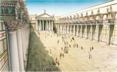 Forum of Nerva - Roma, Italy, 85–97 AD