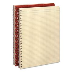 Computation Book, Quadrille Rule, 11 3/4 X 9 1/4, Antique Ivory, 76 Sheets