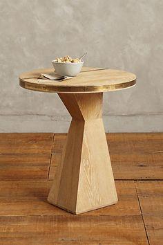 Anthropologie EU Folkthread Side Table, Gablebase by Kit Kemp