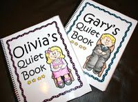 File folder activities--very fun 14-pager--great idea for each child with their name use magnets instead of velcro quieter in church:)