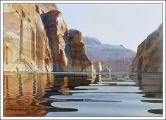 "David Drummond Watercolor Artist ""Early Morning Light"""