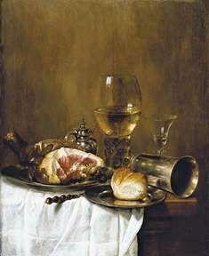 Vin et peinture - La nature morte