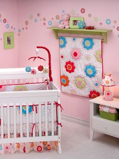 Flower-themed Nurseries - Nursery Ideas - Slideshow