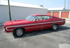 1969 Ford Torino GT Fastback (for sale on eBay as of 10/1/12), via Bring a Trailer.