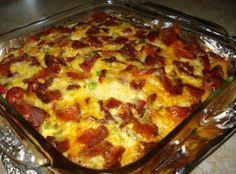 Cheesy Breakfast Casserole Recipe | Just A Pinch Recipes