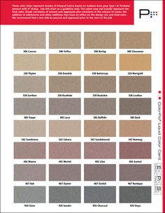 """I like 920 Slate, 242 Sandstone, 385 Taupe and 338 Earthen best for the mow strips... Especially if the DG is """"sand colored"""""""