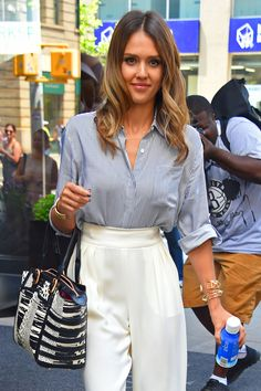 Jessica Alba seen on August 05, 2014 in New York City