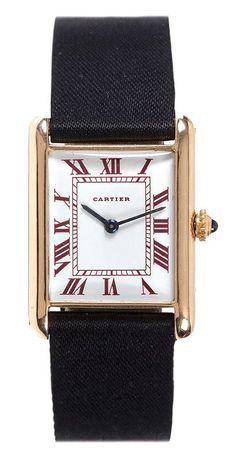 Cartier, Tank European Watch, n° 40713, vers 1940.