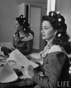 Margaret Lockwood reading in her dressing room on the set of Hungry Hill (1947). Photo by Ian Smith. LIFE. Daphne Du Maurier helped write the script of this adaptation of her best-selling novel. A full-blooded historical romance in the grand tradition of du Maurier's Rebecca. Hungry Hill provides a plum role for Margaret Lockwood, who became one of the biggest stars of British films of the 1940s. 'Margaret Lockwood is luminous in this epic tale of love and greed…' ...