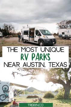 According to Hipcamp, the Airbnb of camping, Central Texas has been named the #1 fall camping destination and we couldn't be more excited about this! Why? Well, it's our home and we agree, it's a great place to set up camp and enjoy cooler temperatures. With fall camping season near, we wanted to round up some of the best unique RV parks near Austin, Texas to give you some fantastic spots to sit back, relax and enjoy the great outdoors. #rvcamping #rvparks #austin #texas Camping In Texas, Camping Spots, Texas Travel, Rv Travel, Texas Rv Parks, Best Rv Parks, Austin Texas, Travel Trailer Living, Fall Vacations