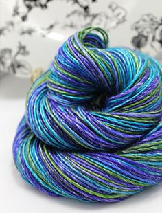 Handspun Yarn Gently Thick and Thin Merino and by SheepingBeauty, $38.00