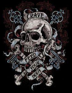 Designs for Crave by Derrick Castle, via Behance