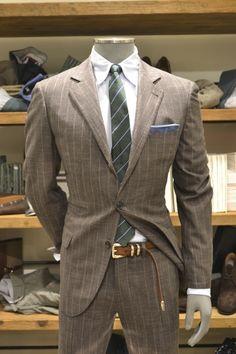 Hugmyndr af jakkafötum- Siggi brósi - Kúnasaumur Mens Suit - love this one