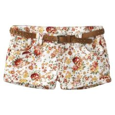flowered shorts at target...love love love