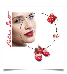 Red/White Polka Dots by fonkelvuur on Polyvore. ... Irma oorstekertjes in e webshop: https://webshop.fonkelvuur.be/oorbellen/irma---oorstekertjes/irma---147345823351921012