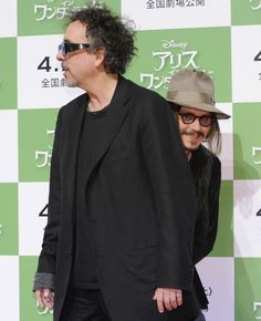 Tim Burton, Johnny Depp by Getty