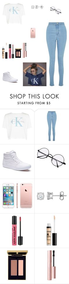 """""""Untitled #529"""" by kittykat125 ❤ liked on Polyvore featuring Calvin Klein, Miss Selfridge, Vans, NYX, Yves Saint Laurent and Too Faced Cosmetics"""