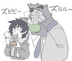 The Boy and the Beast #Kumatetsu #Kyuta (by chisa_sa)