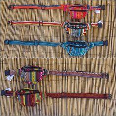 unisex pocket hip belt waist bag van Kalbelia op Etsy