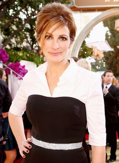 InStyle Cover Girl Julia Roberts Shares 11 of Her All-Time Favorite Things - Go-To White Shirt  - from InStyle.com