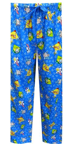 Nickelodeon Rewind Rocco's Modern Life Lounge Pants What a blast from the past! These hysterical Rocco's Modern Life unisex lou...