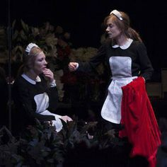 Mirror, mirror on the wall, Genet's The Maids is surely among the most bizarre plays of all. Cate Blanchett and Isabelle Huppert are the murderous, incestuous maids who use and abuse each other as they indulge their increasingly violent fantasies. Theatre Stage, Theater, Devious Maids, Isabelle Huppert, New York Post, Cate Blanchett, Tv Shows, Hollywood, Entertaining