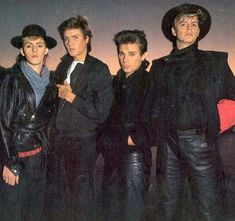Duran Duran: not sure where Andy is hiding but there's a lot of hotness here Mariah Carey, Great Bands, Cool Bands, Madonna, Nigel John Taylor, The Cure, Nick Rhodes, Uk Singles Chart, Simon Le Bon
