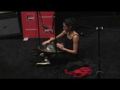 Golshifteh Farahani playing Hang Drum 2016 - YouTube