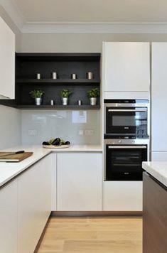 West End Apartments contemporary-kitchen