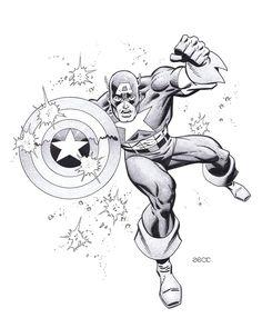 Captain America - Mike Zeck