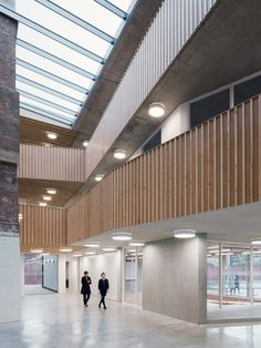 Old London shoe polish factory transformed into charity offices by Architecture 00.
