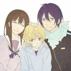 Hiyori, Yukine & Yato
