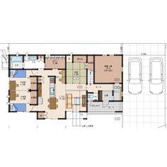 MBCハウス 「Mブランシェの家」 MBC開発株式会社さんはInstagramを利用しています:「おはようございます、MBCハウスです。 ・ ★提案事例 スキップフロア、秘蔵っ庫(蔵)、屋根裏ロフトのある多層階の住まい。 収納力抜群で、水周りから繋がるファミリークロークの動線計画も使い勝手が良い。 ・ ・ ・ 分譲モデルハウスのご案内。…」 House Plans, Floor Plans, How To Plan, Home, Instagram, Japan, Arquitetura, Blueprints For Homes, Home Plans