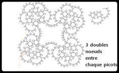 Easy square motif pattern