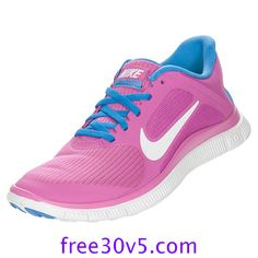 the latest 0d98e f48ea 50% Off Nike Frees,Nike Free 4.0 V3 Womens Club Pink White Distance Blue  580406 601