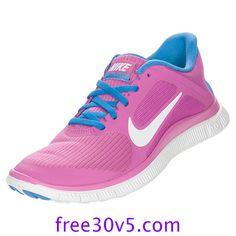 50% Off Nike Frees,Nike Free 4.0 V3 Womens Club Pink White Distance Blue