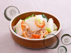 冬瓜蝦米煮粉絲