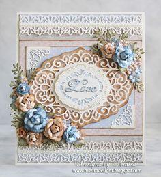 Wedding Card - Craft Dies by Sue Wilson