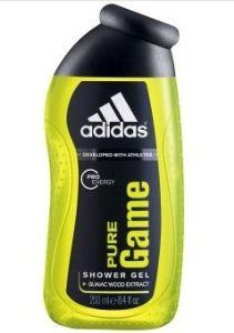 Adidas Pro Energy Shower Gel Body Wash for Men, Pure Game, Light Green250ml., by adidas. $16.50