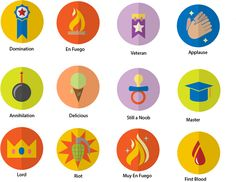 Gamification Badges on Behance