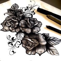 33 Trendy Ideas Tattoo Rose Cover Up Leaves Et Tattoo, Cover Tattoo, Piercing Tattoo, Back Tattoo, Tattoo Hip, Piercings, Tattoos To Cover Scars, Forearm Tattoos, Body Art Tattoos
