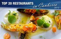 canberra restaurants, best canberra restaurants, canberra dining